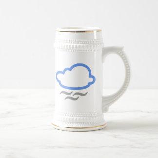 Windy Cloud Coffee Mugs