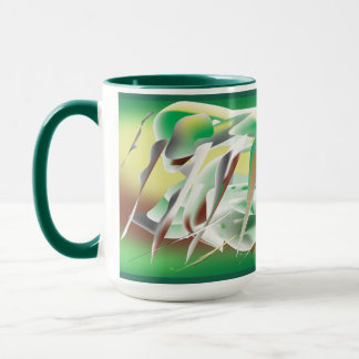 Windy Cold Day in Winter Mug
