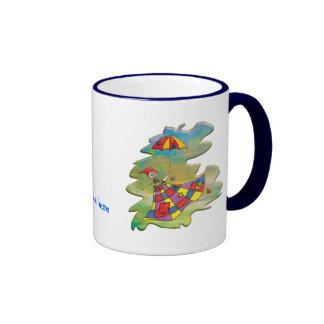 Windy Day Dream Ringer Mug