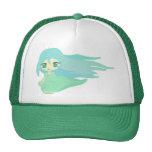 Windy day mesh hats