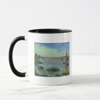 Windy Day on the Elbe, 1911 Mug