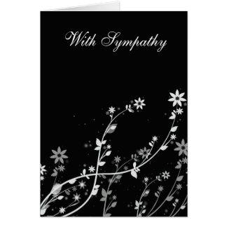 Windy Flowers Sympathy card