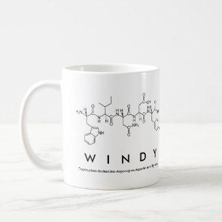 Windy peptide name mug