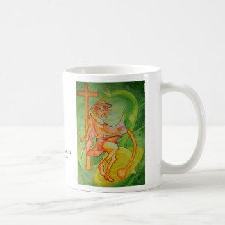 Windy Saturn Basic White Mug