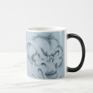 Windy Skull Coffee Cup Morphing Mug