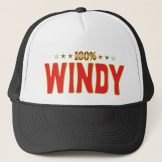 Windy Star Tag Trucker Hat