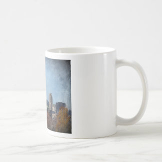 Windy town center Autumn Basic White Mug