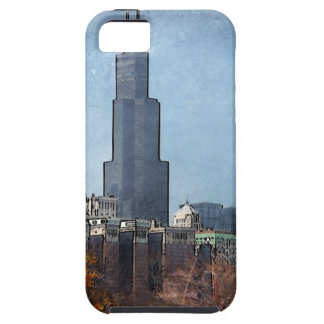 Windy town center Autumn iPhone 5 Cases