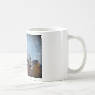 Windy town center Autumn Coffee Mug