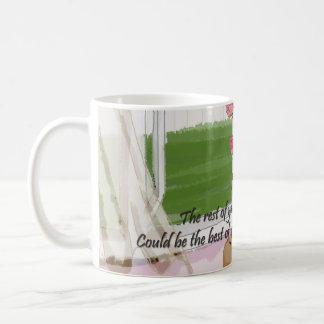 Windy Window Basic White Mug