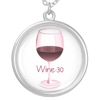 WINE30 WINE GLASSES PRINT JEWELRY