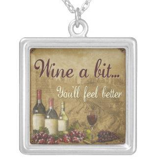 Wine a Bit Necklace Jewelry