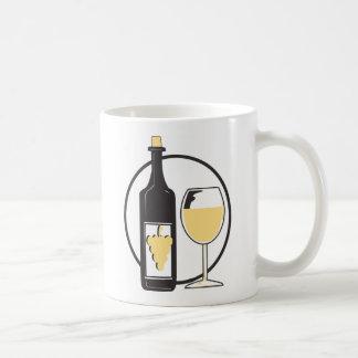 Wine a Little/White Coffee Mugs