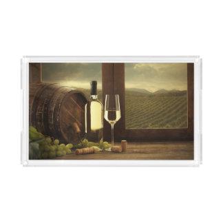 Wine Acrylic Tray