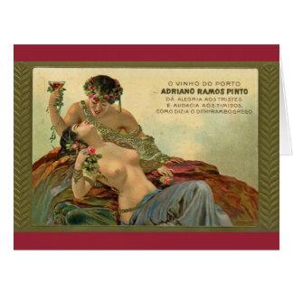 Wine Ad 1912 Big Greeting Card