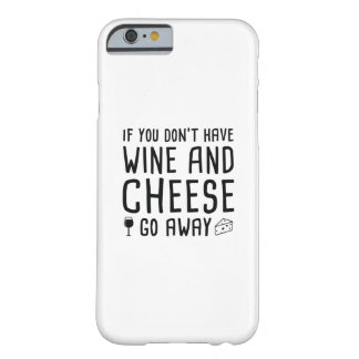 Wine And Cheese Barely There iPhone 6 Case
