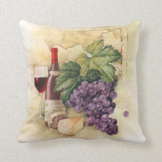 Wine and Cheese Cushion