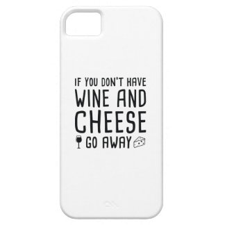 Wine And Cheese iPhone 5 Case