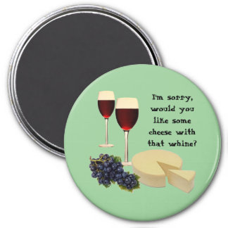 Wine and Cheese Series Magnet