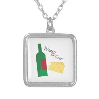Wine And Dine Custom Necklace