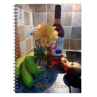 Wine and Fruit NoteBook