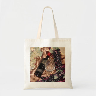 Wine and Grape Theme Bag