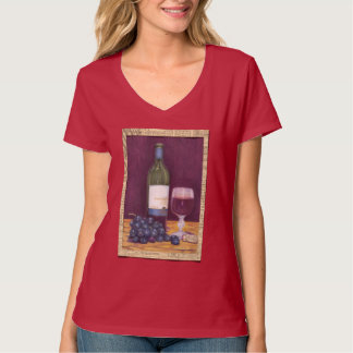 Wine and Grapes Art Gifts T-Shirt