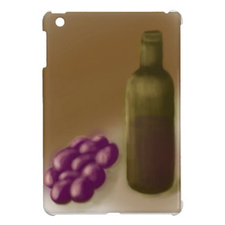 Wine and Grapes iPad case