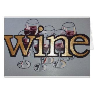 wine anyone card