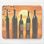 Wine art mousepads