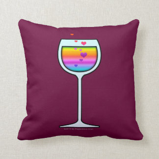 WINE ART Throw or Lumbar PILLOWS
