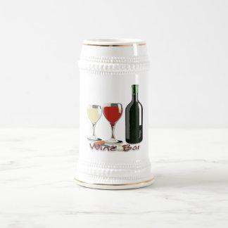 Wine Bar - Wine Stein Coffee Mugs