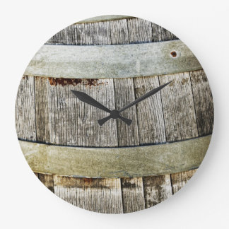 Wine Barrel Wallclock