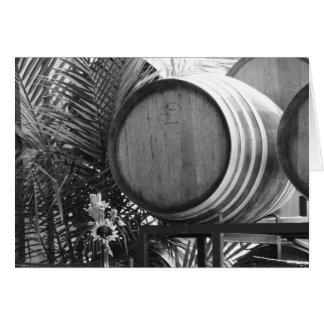 Wine Barrell Card