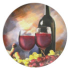 Wine Before & After Plate