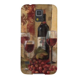Wine Bottle and Wine Glasses Cases For Galaxy S5