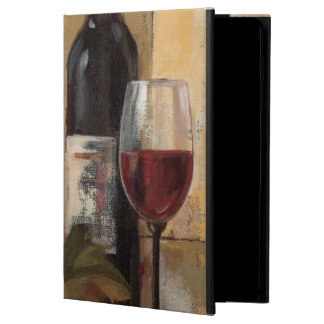 Wine Bottle and Wine Glasses Cover For iPad Air