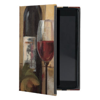 Wine Bottle and Wine Glasses Cover For iPad Mini