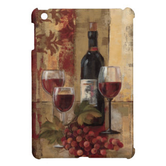 Wine Bottle and Wine Glasses iPad Mini Cover