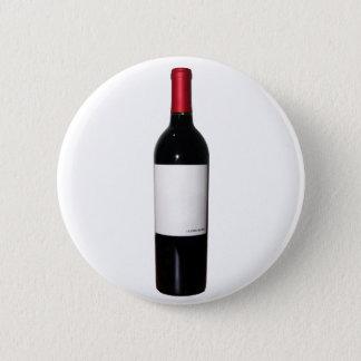 Wine Bottle (Blank Label) Button