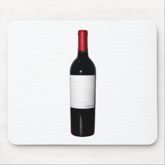 Wine Bottle (Blank Label) Mousepad