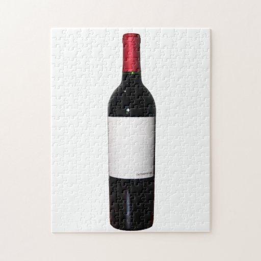 Image Name: Wine Bottle (Blank Label) Puzzle