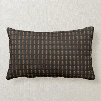 Wine Bottle Cap Golden Brown Pattern DIY Template Lumbar Cushion
