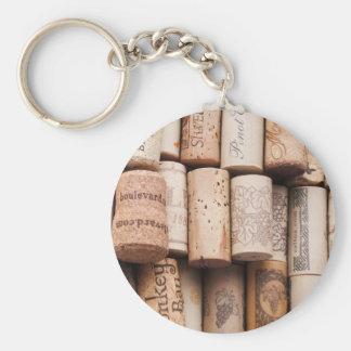 Wine Bottle Corks Keychains