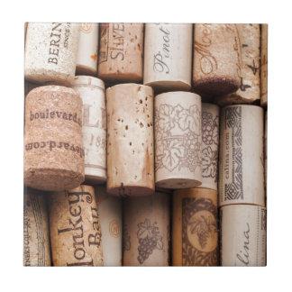 Wine Bottle Corks Tile