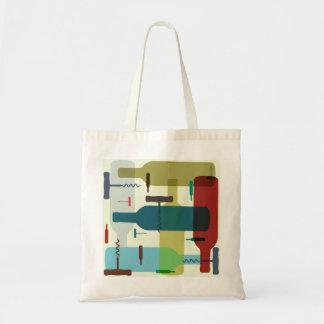 Wine bottle design bags