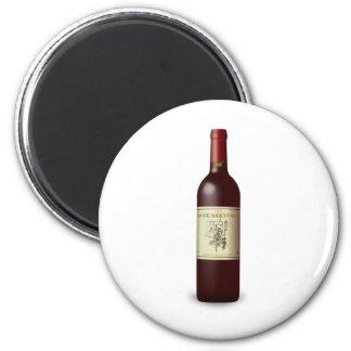 wine bottle refrigerator magnets
