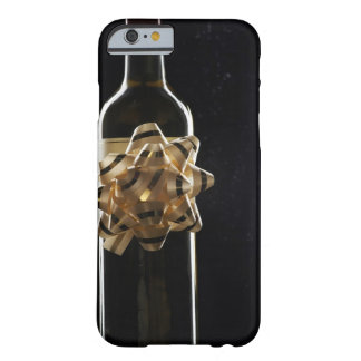 Wine bottle with bow barely there iPhone 6 case