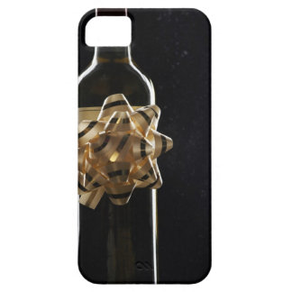Wine bottle with bow iPhone 5 covers