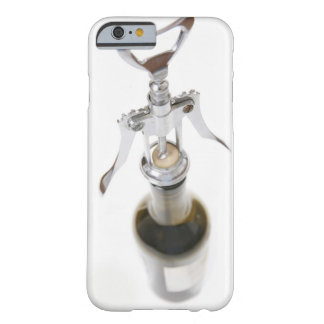 Wine bottle with corkscrew. barely there iPhone 6 case